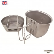 BCB Crusader Cooking Combination MK 1 - Silver