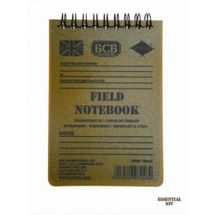 Waterproof  Field Notebook with Pencil