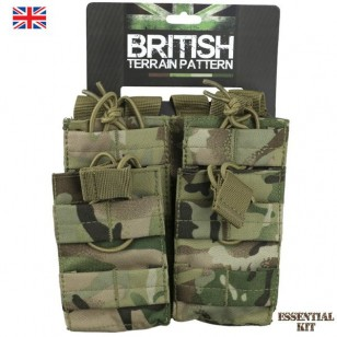 BTP Double Duo Mag Molle Pouch