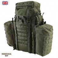 Olive Green Tactical Assault Pack 90 Litre