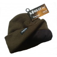 Olive Green Thermal Beanie Hat