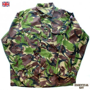 DPM Woodland Camouflage Shirt - New