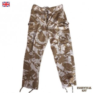 DPM Desert Camouflage Trousers - Super Grade