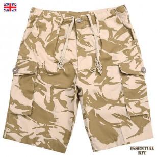 DPM Desert Camouflage Shorts - Super Grade